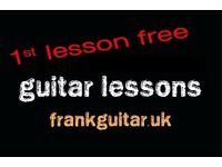 1st lesson free 🎸 beginners welcome 🎸 GUITAR TEACHER 🎸 tutor lessons