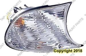 Side Marker Lamp Passenger Side Clear Coupe/Convertible High Quality BMW 3-Series (E46) 2002