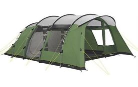 Outwell palm coast 600 with EXTRAS. Brand new tent..used 1 night! Camping is NOT for me!!