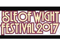 2x Isle of Wight festival tickets, thurs-mon