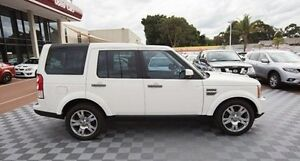 2009 Land Rover Discovery 4 Series 4 10MY TdV6 CommandShift White 6 Speed Sports Automatic Wagon Alfred Cove Melville Area Preview
