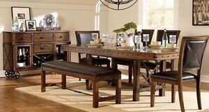 Restoration hardware look dinning table