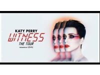 2 Katy Perry Standing Tickets Manchester