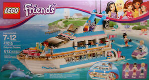 LEGO FRIENDS set 41015 Dolphin Cruiser new sealedmint condition