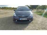 TOYOTA PRIUS PLUS 2012 62 PLATE MPV 7 SEATER GREY 5 DOOR HATCHBACK!!!