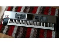 Roland Fantom X7 Workstation Synthesizer. Very good condition but with Fault