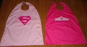 Reversible Superman/Batman Superwoman/princess capes Kitchener / Waterloo Kitchener Area image 3