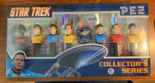2008 Star Trek TOS 8 Piece Collector Series PEZ 165867/250,000 NIP Free Shipping