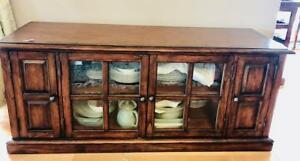 Moving Sale! From Ridpath Furniture: Long Oak Console