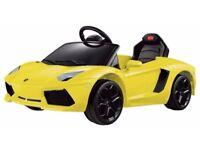 Lamborghini Aventador Ride On Car.