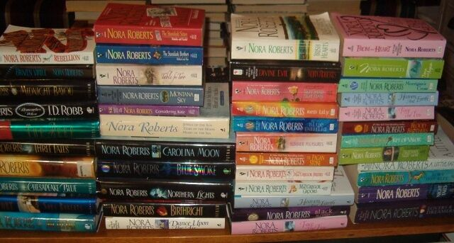 Lot of 43 Nora Roberts  HC SC  Great Selection  Some New