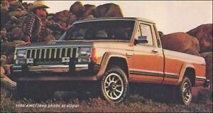 Looking for a Jeep Comanche Pickup
