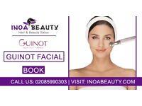 Guinot Facial Treatment At Inoa Beauty Salon