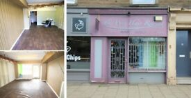 RETAIL UNIT | Former Hairdressers | BUSY HIGH STREET | James Square, Creiff, Perthshire | C1166
