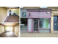 RETAIL UNIT   Former Hairdressers   BUSY HIGH STREET   James Square, Creiff, Perthshire   C1166