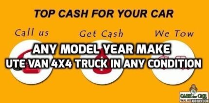 Get Cash for Cars and Trucks today