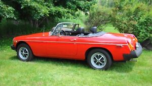 1975 MGB - 75th Anniversary Edition