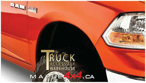 2009-2014 Ford F-150 4pcs Pocket-Riveted Textured Fender Flares Downtown-West End Greater Vancouver Area image 9