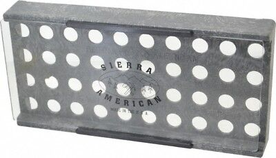 Made In Usa 40 Collet Er16 Plastic Collet Rack And Tray 5-38 Inch Wide X 1-...