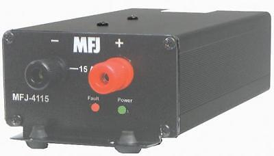 MFJ-4115 Switching power supply, 13.8V 15A, small