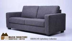 3 PC Sofa Set in Charcoal Fabric on Sale (BD-2498)