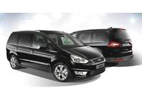 PCO FORD GALAXY 2012. 7 SEATER UBER READY
