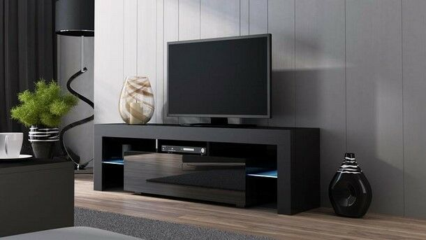Brand New HIGH GLOSS Modern TV Stand   Living Room Furniture    Entertainment Unit   White. Brand New HIGH GLOSS Modern TV Stand   Living Room Furniture
