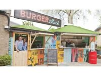 Burger shack chef wanted. HAND & SPEAR £££/hrs negotiable. Full/part time available - WEYBRIDGE
