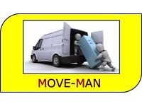(MAN and VAN) 24/7 - Collections/Deliveries, Furniture Moves, Courier Service.