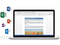 Microsoft Office 2016 for Mac Pro Home Student Business Unlimited Install FULL