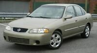 2003 Nissan Sentra-NO RUST -LOW KM-AUTO.LOADED -AC --CLEAN..