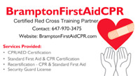 Red Cross First Aid, CPR\AED Training and BLS Provider