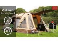 Outwell Kensington 4 men tent BRAND NEW