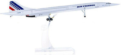 1:200 31CM Hogan AIR FRANCE Concorde Passenger Aircraft Diecast Airplane Model