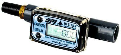Gpi Tm050-n Tm Series 12 6-digit Electronic Digital Water Flow Meter