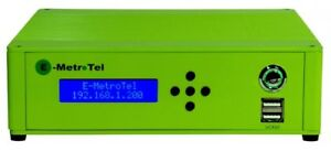 EMetrotel UCx20 8 extensions SIP trunks Nortel sets supported