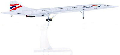 31CM 1:200 Hogan BRITISH AIRWAYS Concorde Passenger Aircraft Diecast Plane Model