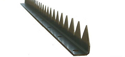 Zackenleiste zum Anschrauben 1 Meter , Zackenprofil , Tor , Zaunspitzen , Zaun