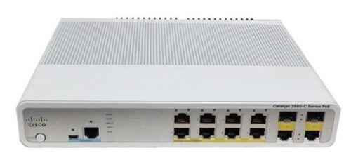 Ws-c3560c-8pc-s - Cisco Catalyst 3560c Switch 8 Fe Poe, 2 X Dual Uplink, Ip Base
