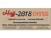 Hajj Packages from London fr GBP4800 Limited Seats Available