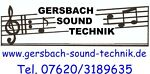 gersbach-sound-technik.shop