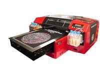 Quick Sale Resolute DTG R-Jet 5 Textile Printer Garments £3999 x 2