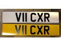 Private Registration Plate V11 CXR