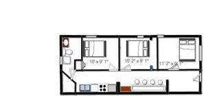 3 Bedrooms apartment -Bathurst and Dundas Downtown Toronto(SOLD)