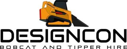 Designcon Bobcat & tipper hire