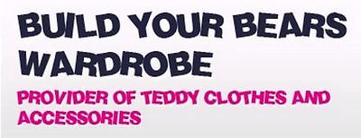 Build your bears wardrobe provider of teddy bear clothing