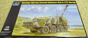 Trumpeter 1/35 Russian 130mm Coastal Defense Gun A-222 Bereg