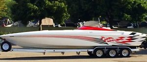 Sunsation 32' Dominator for sale! MINT! 1000 HP! $79,500.