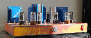 Tube amplifier, all Triodes