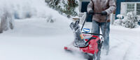24/7 ON CALL SNOW REMOVAL $30-$50!